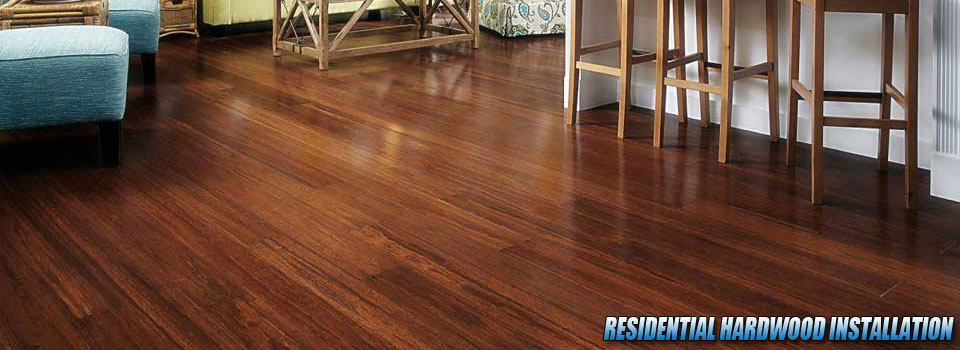 Residential Hardwood Floor Installation