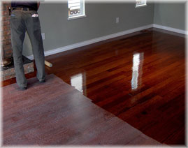 Staining Hardwood Floors NJ